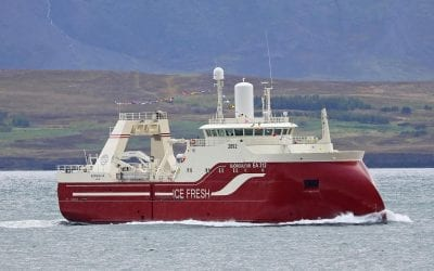 Slippurinn Akureyri will deliver turnkey solutions in fresh fish vessels Kaldbakur EA 1 and Björgúlfur 312 for Samherji.