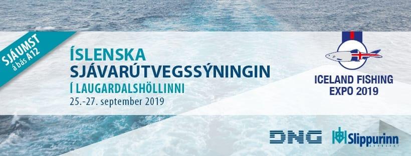 Sjávarútvegssýningunni í Laugardagshöll 2019