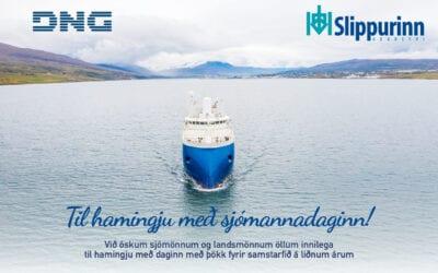 Við óskum sjómönnum og landsmönnum öllum innilega til hamingju með daginn.